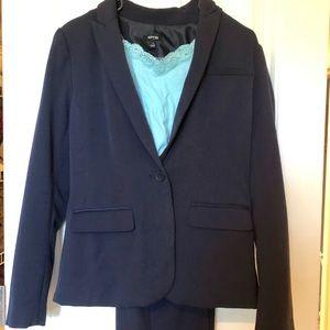 APT 9 Business Attire Women's Dress Suit Navy Blue